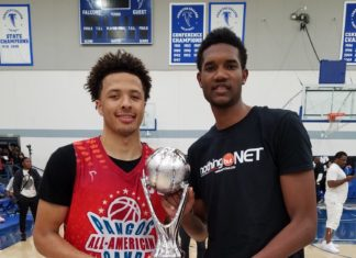 evan mobley. cade cunningham. pangos all american camp.